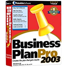 Business Plan Pro 2003