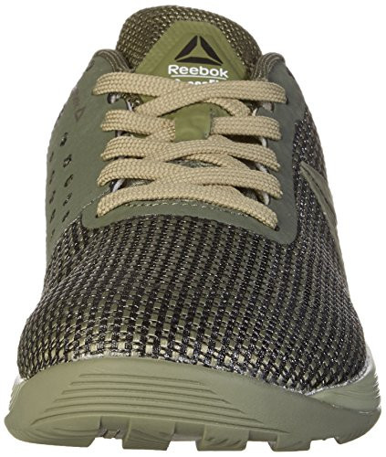 Reebok Crossfit Nano 7, Chaussures de Fitness Homme Noir (Hunter Green/khaki/black/white)