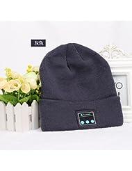 Capuchon en tricot sans fil Bluetooth Bluetooth Europe et chapeau chaud de chapeau hiver hiver américain
