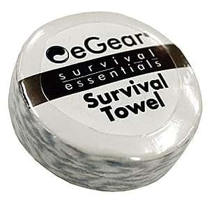 eGear 3 pack of Handy Survival Towels