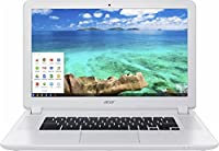 Acer Newest Flagship 15.6 inch Full HD Laptop Chromebook PC, Intel Celeron 3205U Dual-Core, 4GB RAM, 16GB SSD, SD Card Reader, USB 3.0, 802.11ac, HDMI, Chrome OS