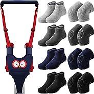 Panitay Handheld Baby Walking Harness Adjustable Toddler Walking Assistant Baby Walker Assistant Belt with 4 P