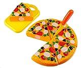 M-import Schneidepizza Spielzeug - Kinder Küchenspielzeug für Pizza Master Spielküchenzubehör