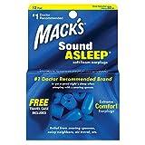 Mack's Sound Asleep - Tapones para los oídos para natación, color azul