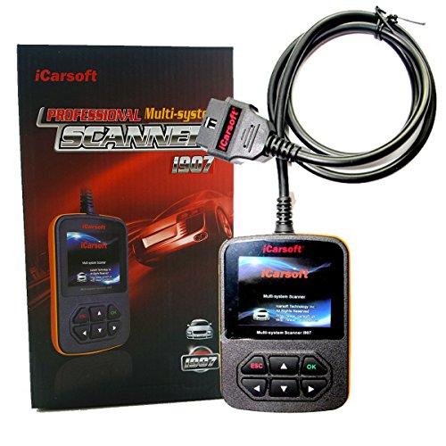 OBD2 Diagnosegerät i907 Renault KFZ Code Scanner (Fehlercodes lesen/löschen, Airbag, Motor, ABS etc.)