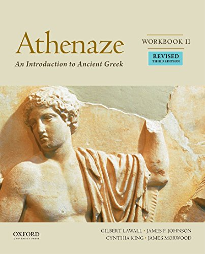 2: Athenaze, Workbook II: An Introduction to Ancient Greek