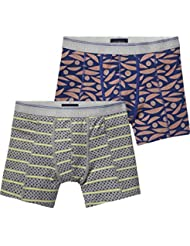 Scotch & Soda Classic In Jersey Quality with All-Over Print, Boxer Homme