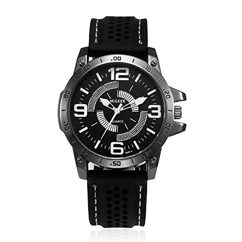 YEARNLY Farbige Sportuhr Armbanduhr Silikon Sport Watch Damen Herren Kinder Analog Quarz Uhr