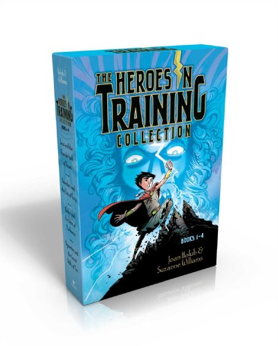 The Heroes in Training Collection Books 1-4: Zeus and the Thunderbolt of Doom; Poseidon and the Sea of Fury; Hades and the Helm of Darkness; Hyperion and the Great Balls of Fire (Childs Roman Helm)