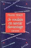 Telecharger Livres Je voulais en savoir davantage (PDF,EPUB,MOBI) gratuits en Francaise