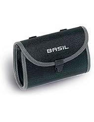 Basil Satteltasche Madi Einzelpacktasche, Black, 13 x 7 x 20 cm