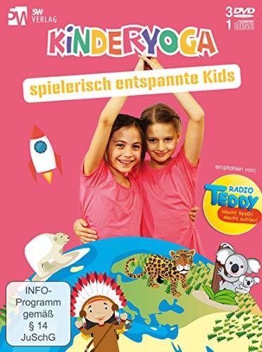 Kinderyoga - spielerisch entspannte Kids +++ empfohlen von Radio TEDDY +++ [4 DVDs]
