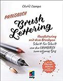 Praxisbuch Brush Lettering: Handlettering und Brushlettering mit dem Brushpen. Schritt für Schritt von den Grundlagen zum eigenen Stil. Mit 42 Übungsblättern zum Ausdrucken. (mitp Kreativ) - Chris Campe