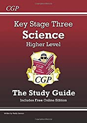 KS3 Science Study Guide (With Online Edition) - Higher (Revision Guides)
