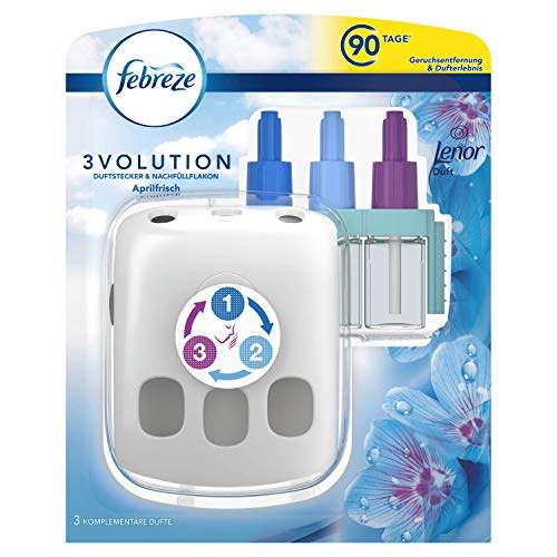 Febreze 3Volution Duftstecker-Starterset Aprilfrisch, 20 ml