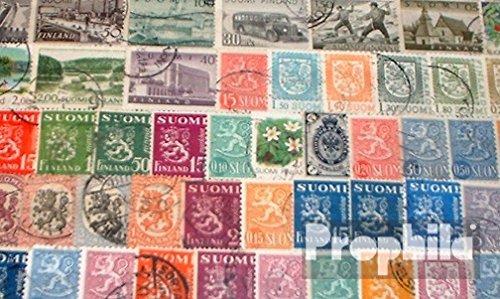 Prophila Collection Finnland 50 Verschiedene Marken (Briefmarken für Sammler)