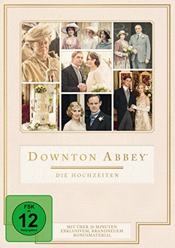 Downton Abbey - Die Hochzeiten [3 DVDs] (Bond Box-set-dvd-james)
