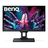 "BenQ PD2500Q - Monitor para diseñadores de 25"" (2K, pantalla de 2560 x 1440, Eye-Care, IPS, HDMI, DP, bisel superestrecho, Flicker-free, mate antibrillo)"