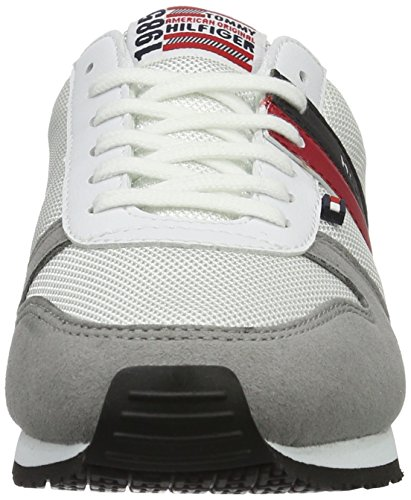 Tommy Hilfiger J3285aimie 16c, Sneakers Basses Mixte Enfant Blanc (White 100)