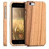 kwmobile Apple iPhone 6 / 6S Hülle - Handy Schutzhülle aus Holz - Cover Case Handyhülle für Apple iPhone 6 / 6S