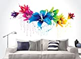 #9: Happy Walls Multicolored 3D Wall Decals/Wall Sticker/Wall Mural