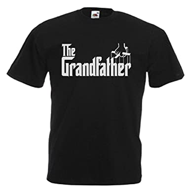 The Grandfather Grandad Funny Slogan Adults Mens Unisex Gift T ...