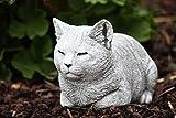 Stone and Style Steinfigur Katze ruhend