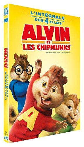Alvin et les Chipmunks 1 à 4
