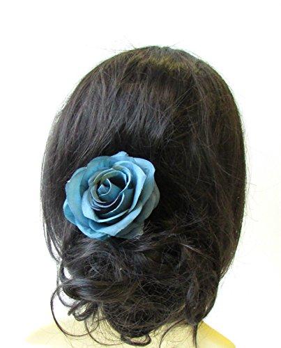 Rose Haar Clip 1950er Brautjungfer Zubehör VTG 1445Stil der Zwanzigerjahre (1950er Haar)