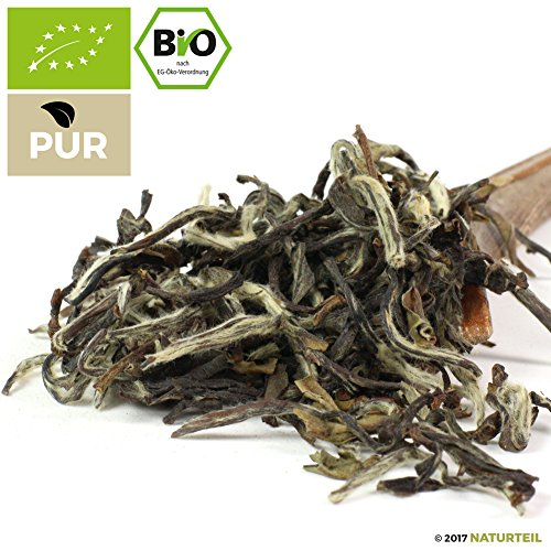 500 g Weißer Oolong Tee White Downy Bio – Im Aromadichten & Wiederverschließbaren Beutel – Natürlich Tee by Naturteil
