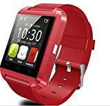 Zoon U8 Red Color Bluetooth Smartwatch f...