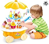 #5: CIERN Ice Cream Kitchen Play Toy Set with Lights and Music (Multicolour)