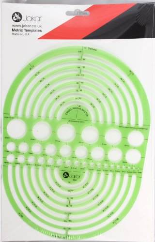 Kreis Schablone Zeichenschablone Technisches Zeichnen-rund-Radius (Radii)