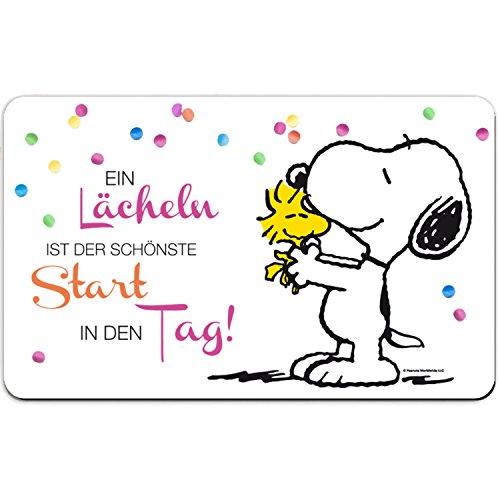 Peanuts Snoopy Collection - Brettchen EIN Lächeln, 23,5 x 14,5 cm