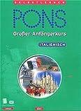 PONS Großer Anfängerkurs, je 4 Cassetten m. Lehrbuch, Italienisch