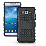 Jishaan Samsung Galaxy J2 PRO Defender Case Tough Hybrid Armour Shockproof Hard PC + TPU with Kick Stand Rugged Back Case Cover