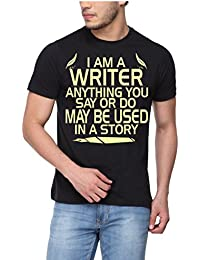 pepperClub Men's Printed T-Shirt for Writers