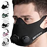 Geez Trainingsmaske Training Mask Atemmaske Trainings Maske Sportmaske Ausdauermaske Fitnessmaske Trainingsmask