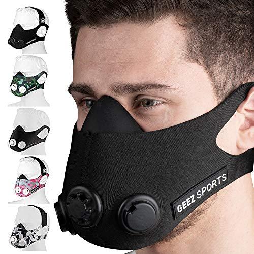 GEEZ - Máscara entrenamiento profesional entrenamiento
