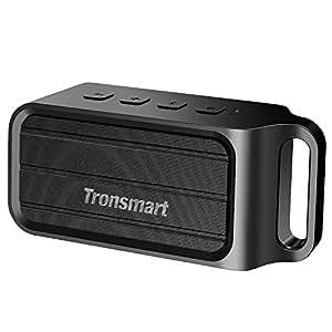 Tronsmart T1 Cassa Altoparlante Speaker Bluetooth - Portatile, Indoor e Outdoor, Impermeabile IPX34, Potente 10W Audio Stereo, Wireless con Microfono Incorporato per Telefonate Vivavoce