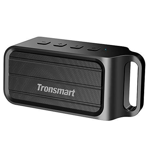 [Altavoz Bluetooth] Tronsmart-T1 Inalámbrico con Dos Drivers Enormes de 10w Soporta MicroSD para iPhone, iPad, Samsung, Nexus, HTC, Tablet, PC y Más