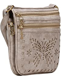 Aadhunik Libaas Stylish Butterfly Cut Work Sling Bags (Handbag) For Women's Girl's