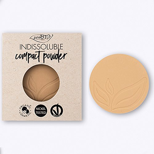 PUROBIO - REFILL - Compact Powder Puder- Farbe 01 - Zaubert ein perfektes Finish - BIO, Vegan,...