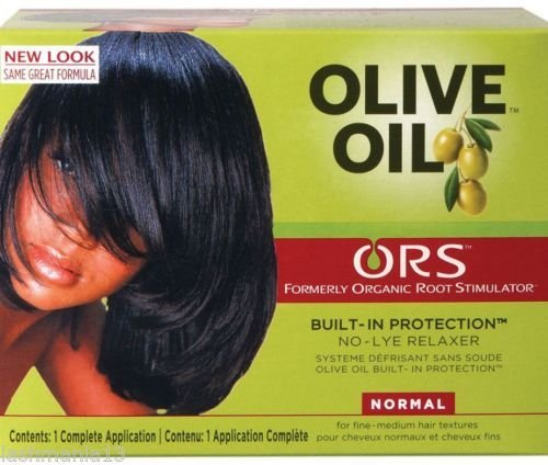 ORS Organic Root Stimulator Olive Oil No Lye Hair Relaxer-Normal by Ors - Olive Oil Relaxer