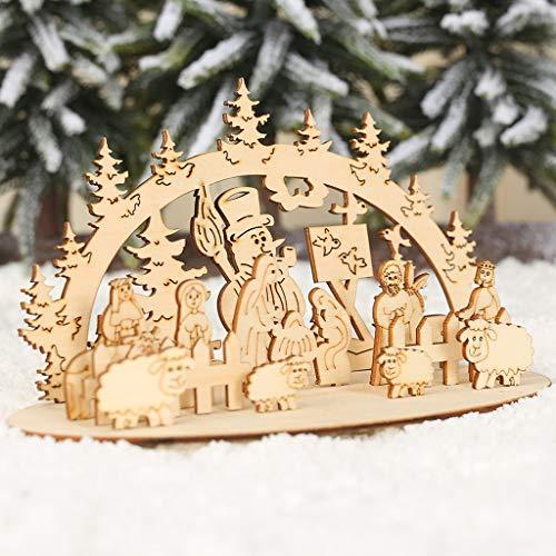 Hausgemachte Halloween Mit Outdoor Dekorationen - xmansky Weihnachtsschmuck, Holzteile, DIY Ornamente, dreidimensionale