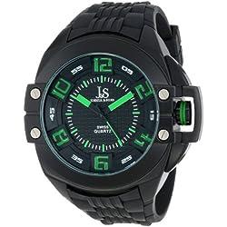 Joshua & Sons JS-39-BK - Reloj para hombres