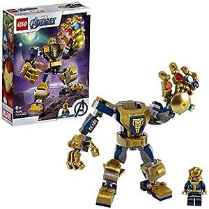 LEGO SuperHeroes MarvelAvengers MechThanos, Playset con Figura Mobile da Combattimento per Bambini dai 6 anni in su, 76141 5702016618037 LEGO