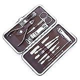 Kit Manucure De Soin Des Ongles - 12 Pièces - Pédicure Coupe-Ongles CuticuleKit Manucure De Soin Des Ongles - 12 Pièces - Pédicure Coupe-Ongles Cuticule