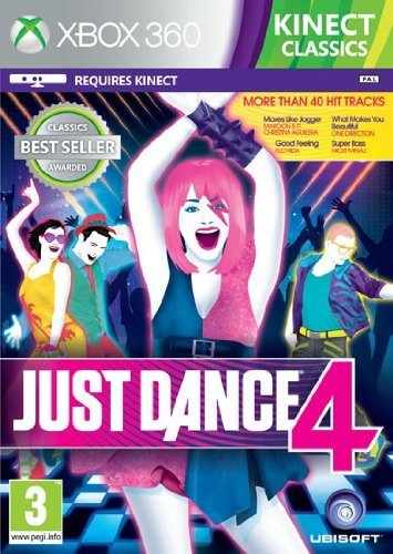 Ubisoft - JUST DANCE 4 CLASSICS 2 KINECT (Just Dance 4 Xbox 360)