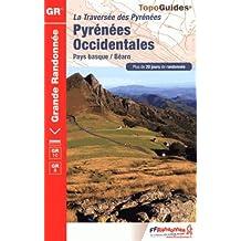 Traversée des Pyrénées ; Pyrénées Occidentales : Pays basque - Béarn